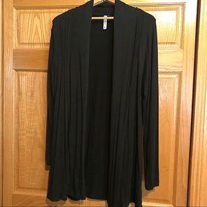 EUC Kische Flowy Cardigan Rayon Sweater XL